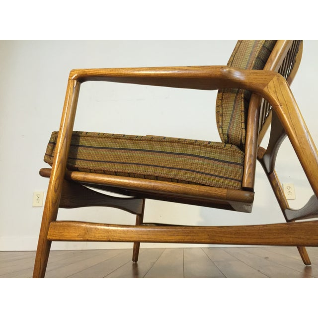 Image of Mid-Century Adjustable High Back Lounge Chair