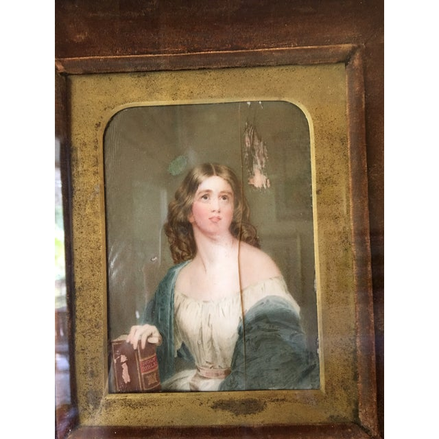 19th Century Oil on Ivory Painting - Image 7 of 7