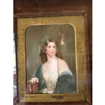 Image of 19th Century Oil on Ivory Painting