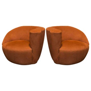 Set of Vladimir Kagan Nautilus Chairs