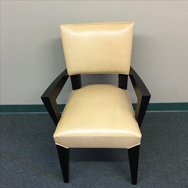 Dakota Jackson Ocean Leather Chair - Image 2 of 10
