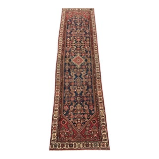 "Vintage Persian Malayer Soft Runner - 3'4"" x 13'1"""