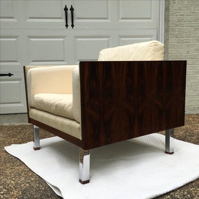 Image of Vintage Cube Chair by Jydsk Mobelvaerk