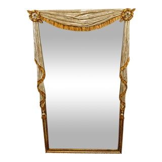 Neo-Classical Silver & Gold Gilt Mirror