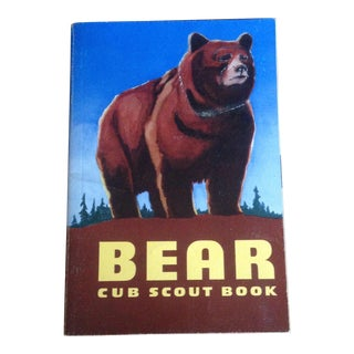 Mid-Century Bear Cub Scout Book