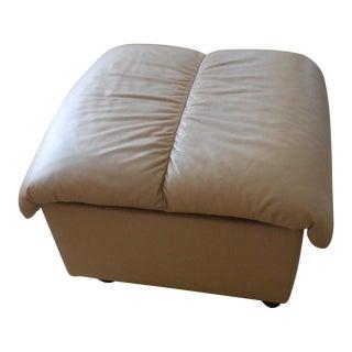 Ekornes ASA Leather Storage Ottoman