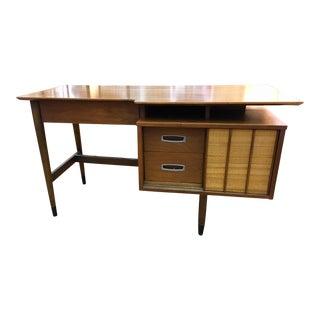 Hooker Mainline Floating Top Walnut Desk
