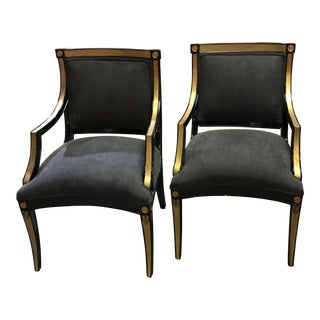 Modern Custom Accent Chairs - a Pair