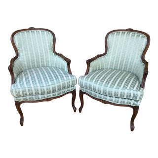 Vintage Thomasville Arm Chairs - A Pair
