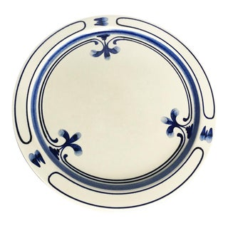 Rosenthal Studio Line Stoneware Siena Blue Charger Platter Plate