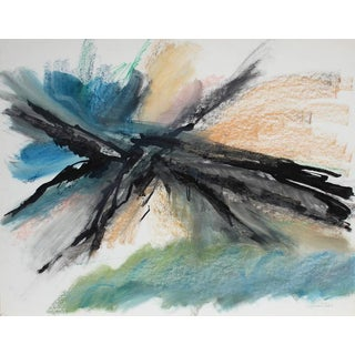 Seymour Tubis Abstracted Mountain Top 1961