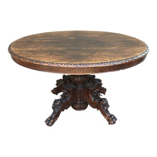 Antique English Round Table