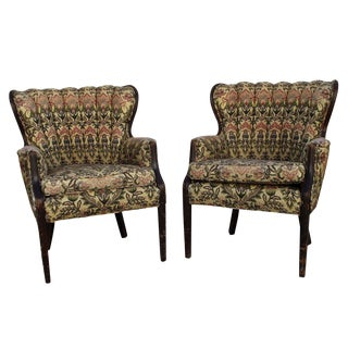 1940s Channel Back Chairs