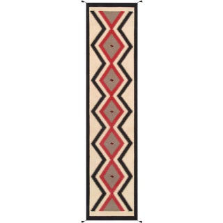 "Navajo Hand Woven Runner - 3'2"" x 13'9"""
