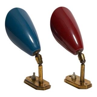 Pair of 1950s Italian Sconces