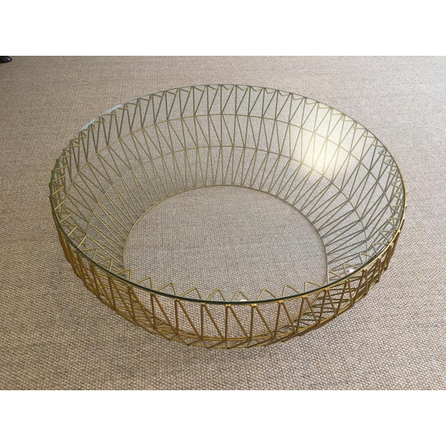 Bend Goods Wire Coffee Table - Image 2 of 3