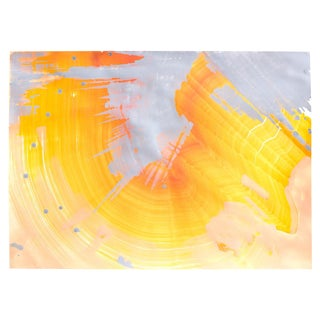 """Orange Opal"" Original Painting"