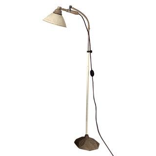 Industrial 1940's Floor Lamp - Zoalite