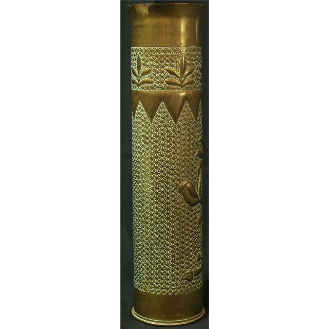 Antique Belgian Militaria Shell Case Brass Vases - Image 7 of 8