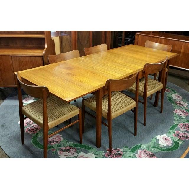 Vintage Danish Mobelfabrik Teak Dining Set - Image 3 of 10