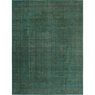 """Vintage Persian Overdyed Rug - 9'5"""" x 12'8"""""""