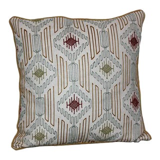 Variation Embroidered Pillow