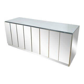Mirrored Bar with Rising Top Panel