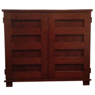 Crate & Barrel Morris Collection Cabinet