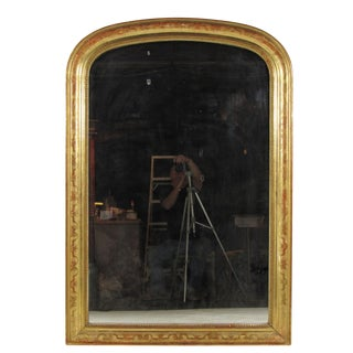 19th-C. Louis Philippe Mantel Mirror