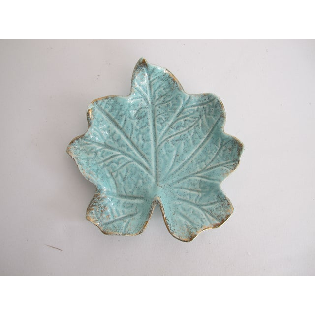 Image of California Pottery Leaf Dish
