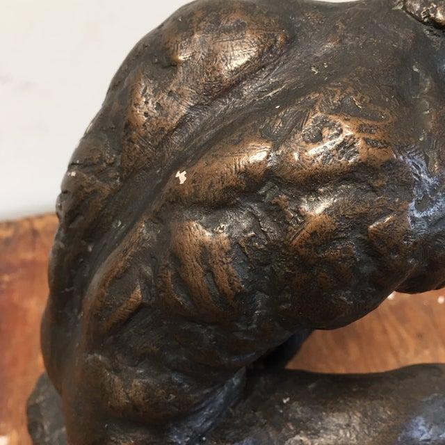 Image of Austin Prod. 1964 Rodin Thinker Statue