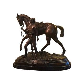 """""""The Winning Horse"""" Bronze Statue"""