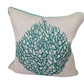 Sea Fan Decorative Pillows