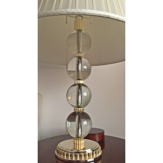 ralph lauren table lamp shade chairish. Black Bedroom Furniture Sets. Home Design Ideas