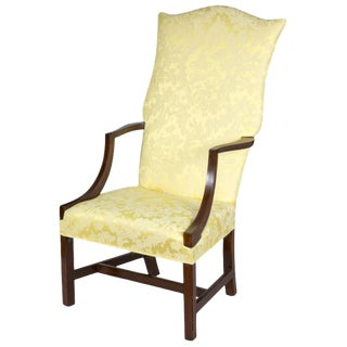 Chippendale Lolling Chair with String Inlay