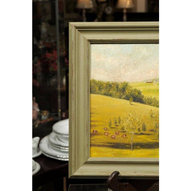 Provençal Pastoral Oil Painting - Image 6 of 7