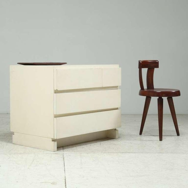 1950s Artek freestanding chest of drawers in white - Image 2 of 6