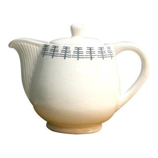 Gustavsberg Foresta Teapot Rn3 - Sweden - 1960s Vintage Pottery