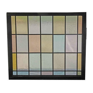 Pastel Color Stained Glass Windows