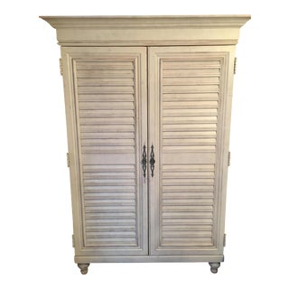 Tommy Bahama Louvered Door Armoire