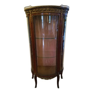19th Century Antique Louis XV Style Vitrine