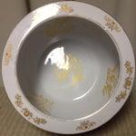 Image of Gold Limoges Porcelain Fishbowl Planter