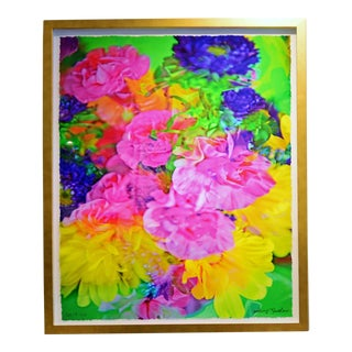 "Johnny Nicoloro ""Mini Carnations, Matsumoto Aster & Daisy"" Original Photo Artwork"