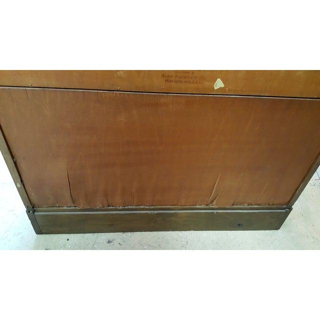 Image of Antique Oak Gunn Barrister Bookcase