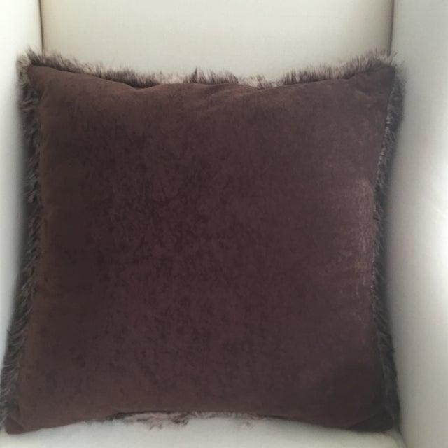 Faux Fur Pillow - Image 3 of 3