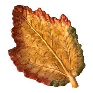 Autumn Leaf Platter