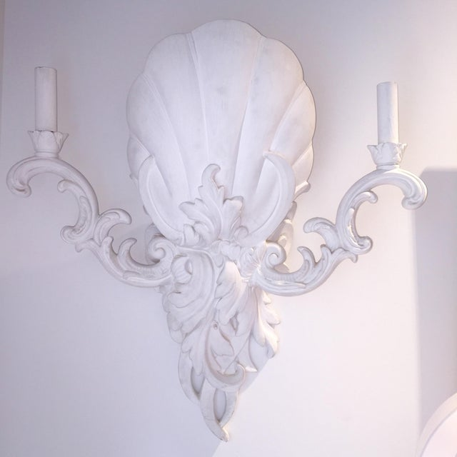 Image of Serge Roche Style Sconces - Pair