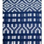 Image of Indigo Handwoven Chiapas Throw