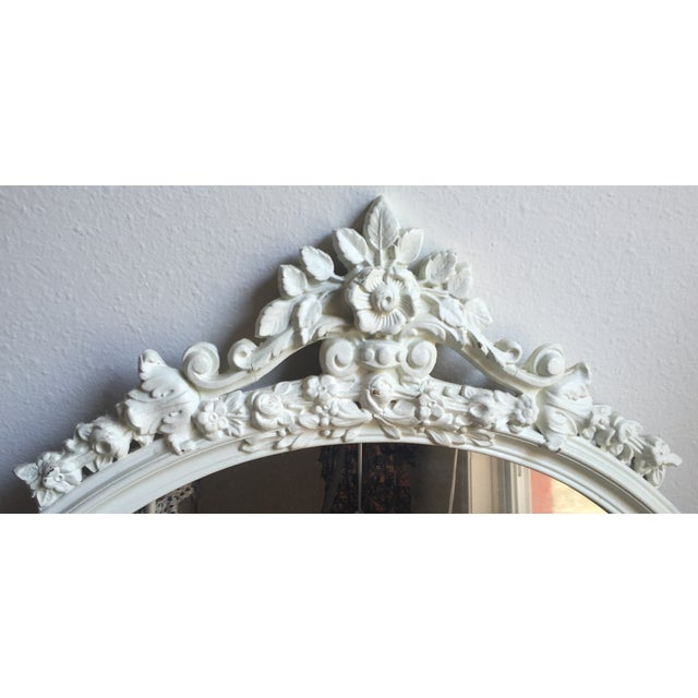 Shabby Chic Circle Mirror - Image 4 of 7