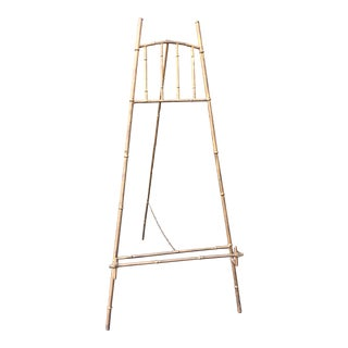 XL Faux Bamboo Gilt Easel